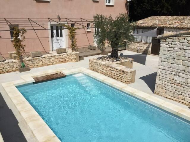 Nouveau, Logement tout confort, piscine partagée