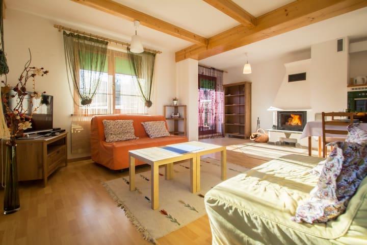 Domek Kolorowy Zakopane - Nowe Bystre - Dom