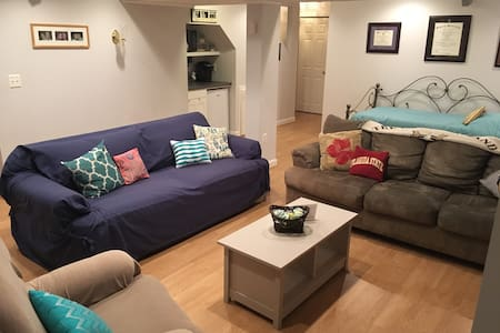 Spacious basement close to 95 and Quantico