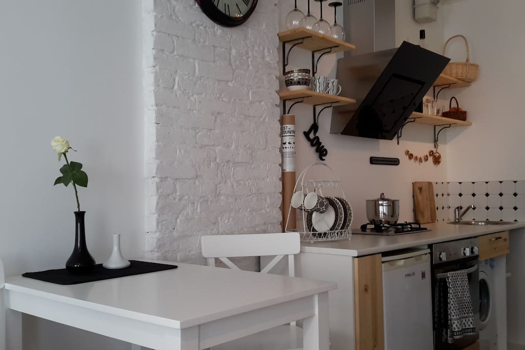 Kitchenette with everything you need :)