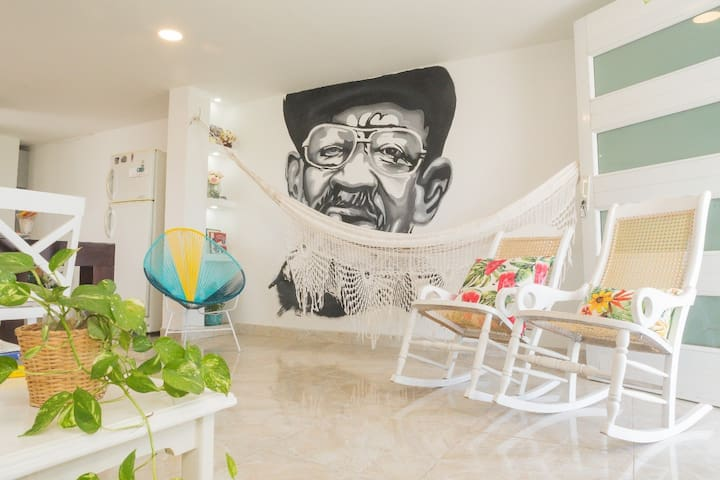 Authentic Colombian apartment - #BeLocal