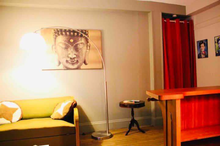 Cosy Chambre Wifi ..appart vintage hyper centre