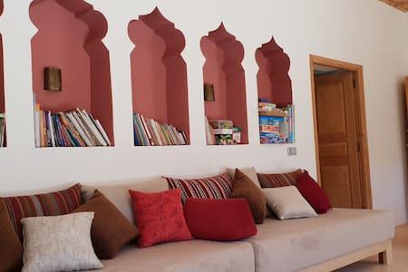 Une maison privée familiale dans le Haut Atlas