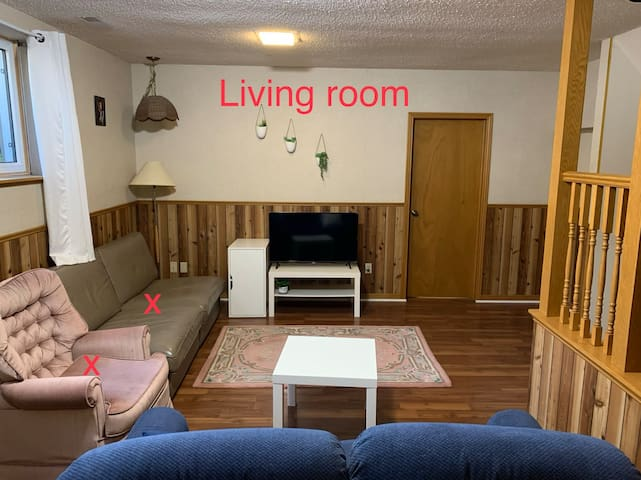 Entire basement, peaceful place