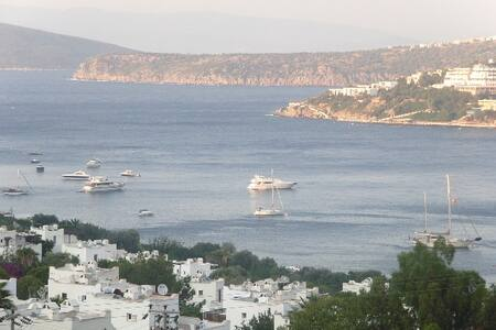 bodrumda deniz manzaralı villa - Gündoğan Belediyesi