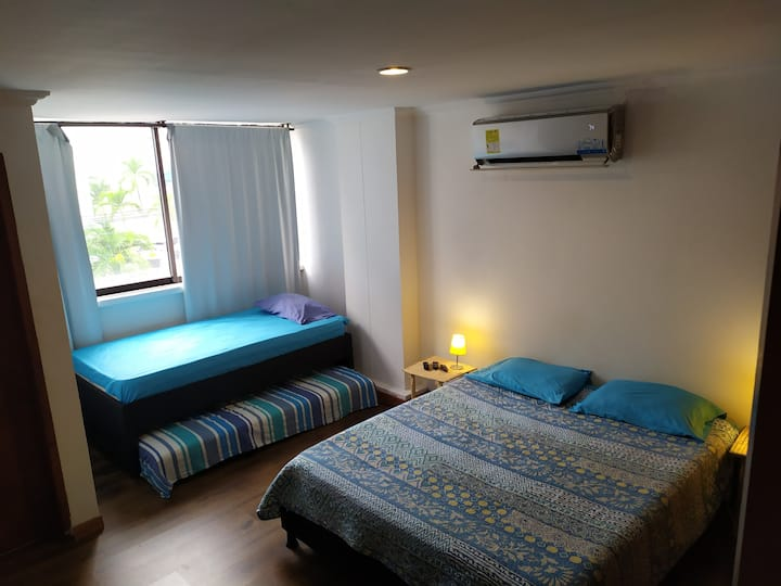 Huge room, private bath, WiFi and working area
