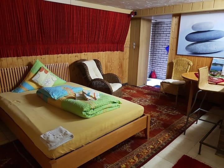 Originelles Zimmer am See