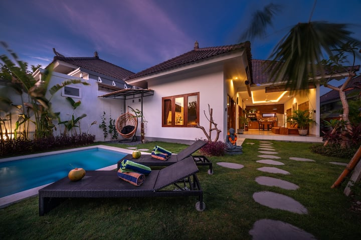 *VILLA SARI*NEW*COMFORTABLE*NEAR ECHO BEACH*CANGGU