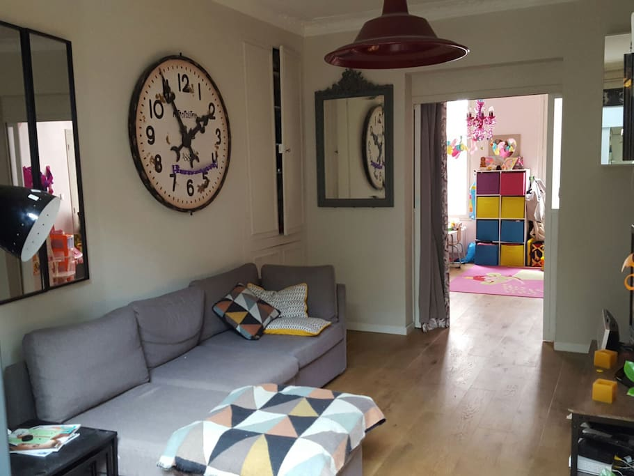 Main Room, Kids Room at the back