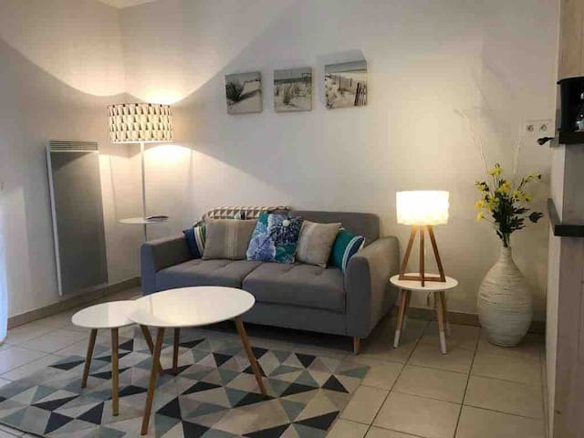 Nice appartment in La Rochelle, city center.