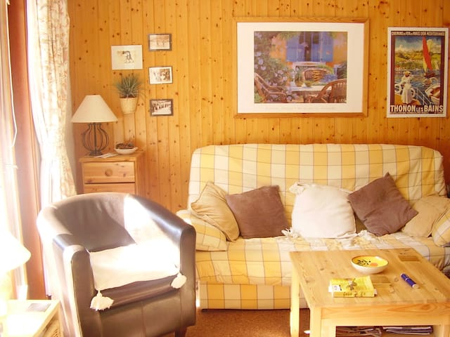 Homely and cosy studio apartment - Saint-Jean-d'Aulps - Apartamento