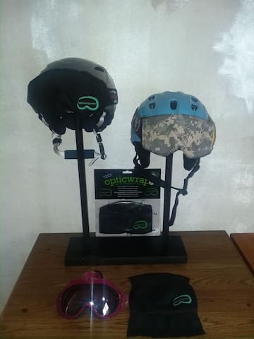 The Patented opticwrap. Protective goggle covering for Ski, Outdoor Sports and Tactical markets. Licensing Rights for Sale.