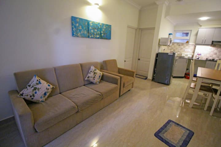 Fully Furnished 1 BHK Apartment with Swimming Pool