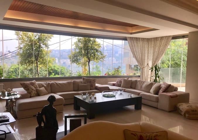 Hazmieh Luxurious 3BD Apartment