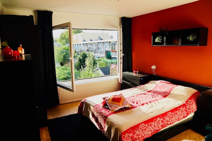 2 Rooms, balcony and bathroom in lovely home.