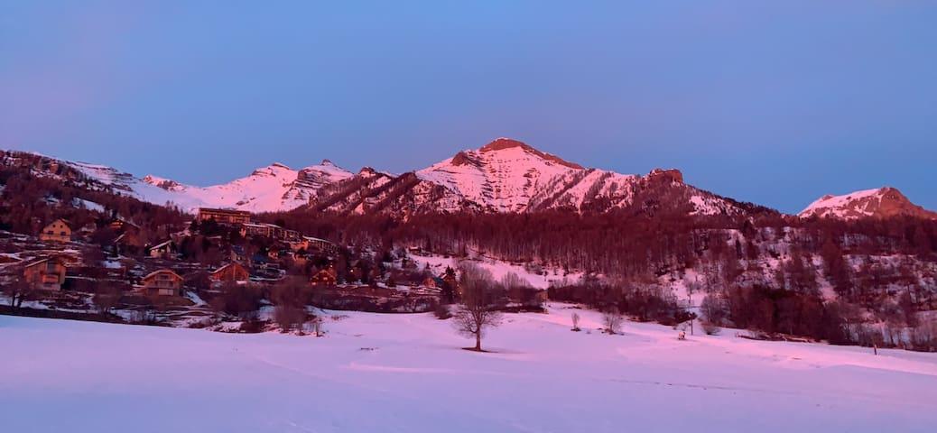 Loft sur les montagnes