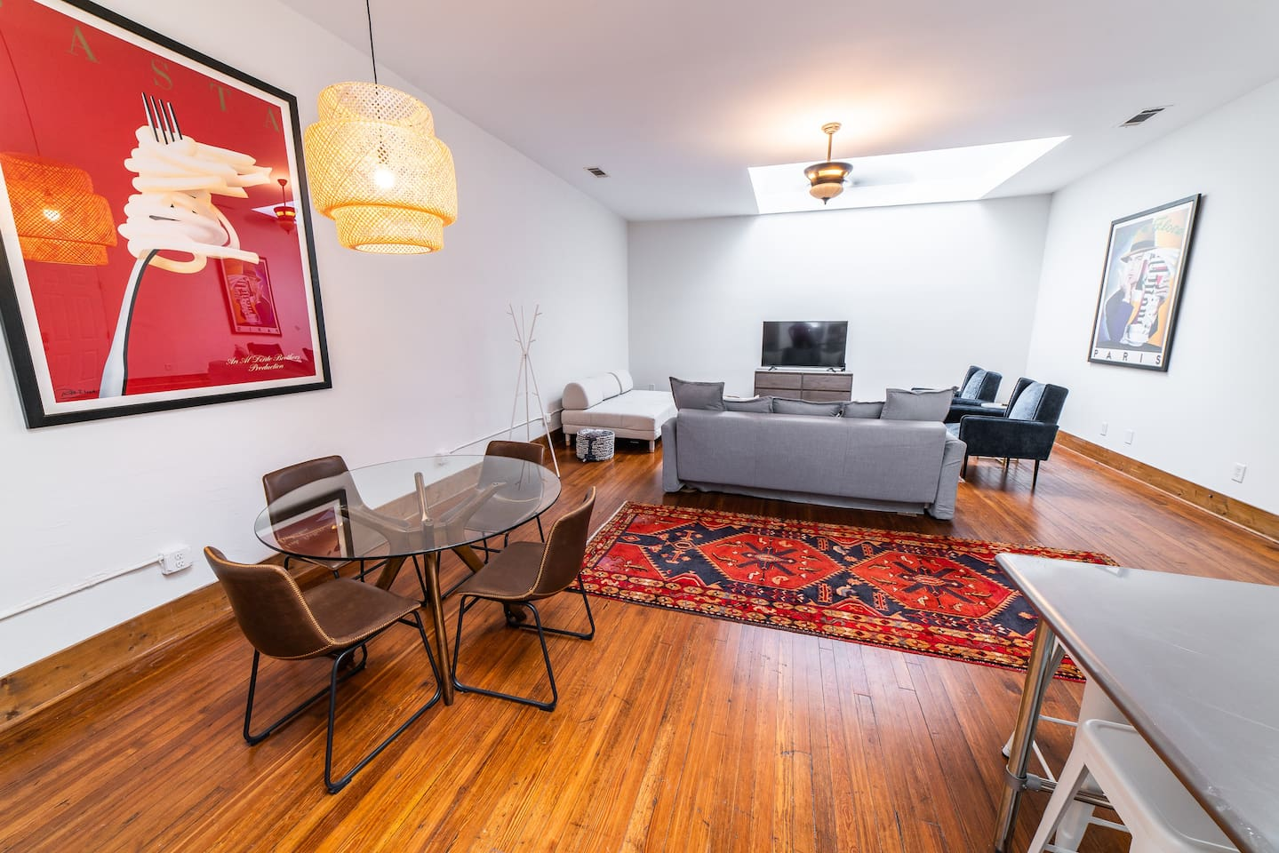Spacious 2BR/2BA loft with an open floor plan in the heart of Uptown Columbus, Georgia.