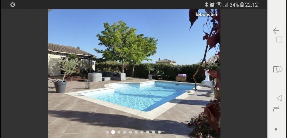 Belle villa de 200m2 avec piscine