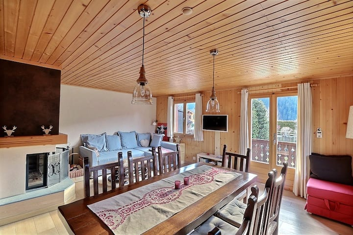 Lovely apartment 15min from Gstaad