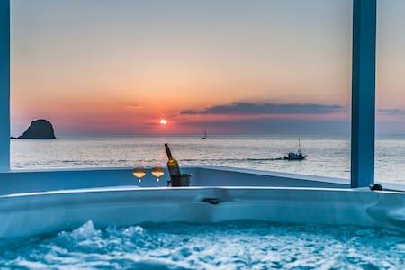 Villa Marisol,amazing Sunset,relax. - Pollónia - Villa