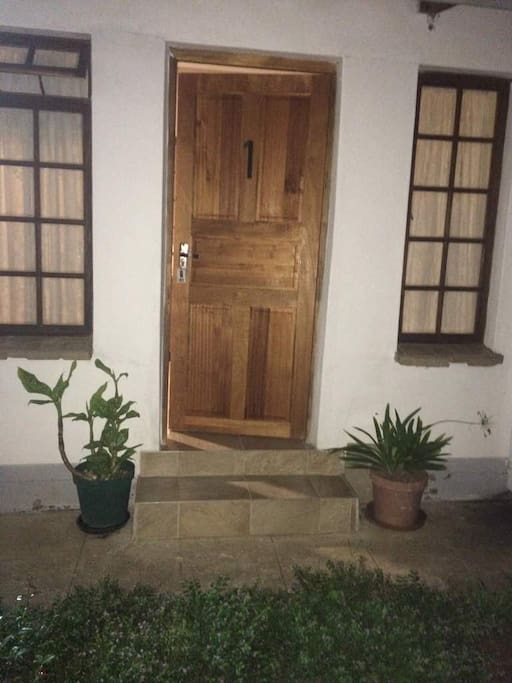 Room 1 Separate Entrance to Private Garden