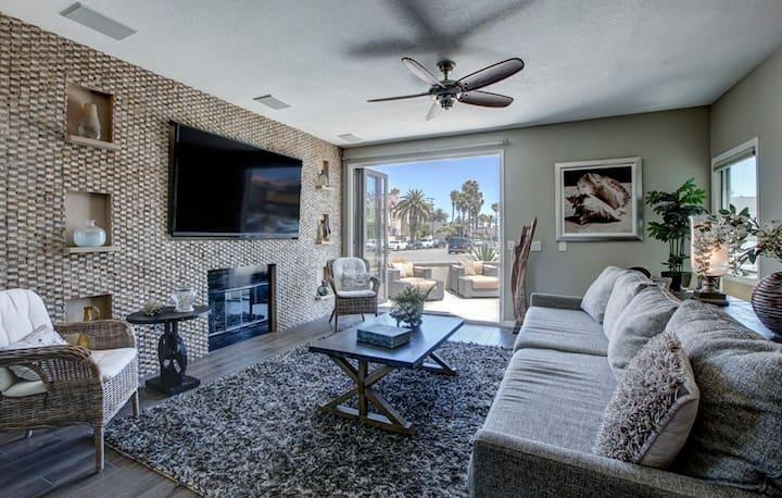 Where HB luxury and beach life come together.