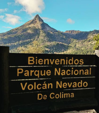 Nevado de Colima alojamiento de montaña