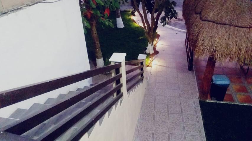 Escaleras segunda planta