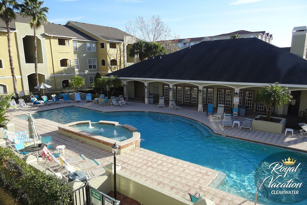 Relax and have fun in a beautiful heated pool