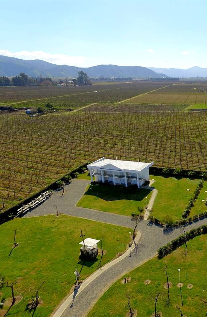 Wine Country:  Rauco. Entire Building, Sleeps 23.