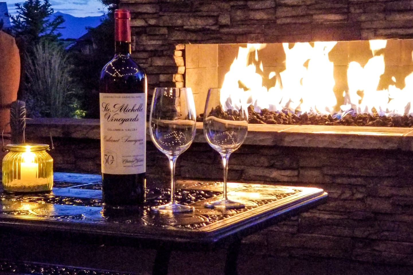 Have a drink or just relax in our outdoor living space after an exhilarating day of playing in the Colorado Outdoors.