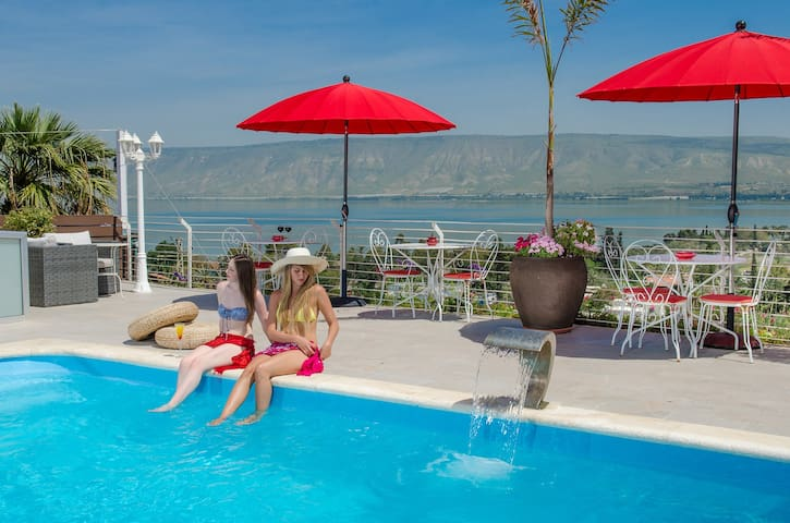 Camila Resort- Sea Of Galilee