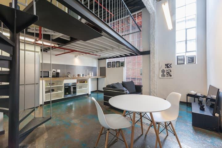 Johannesburg city industrial loft