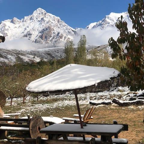 Bungalow de camping Aladaglar - Maison des grimpeurs