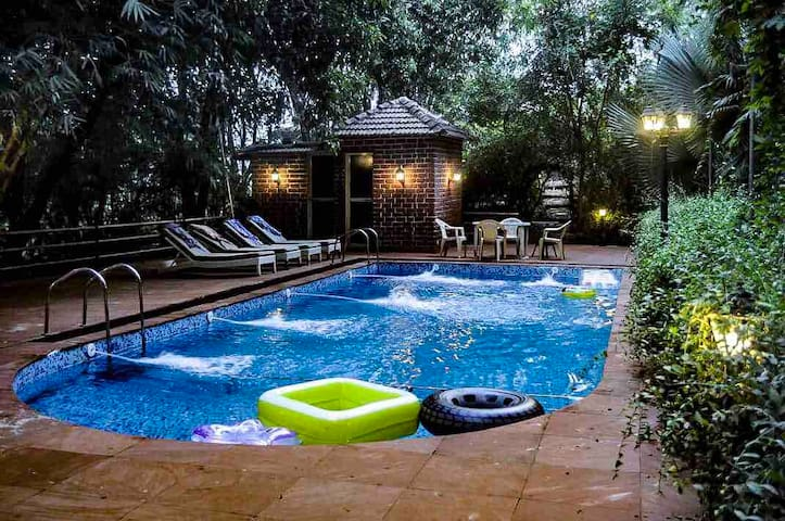 3BHK VILLA FACINGS HILLS WITH PRIVATE HUGE POOL 💫