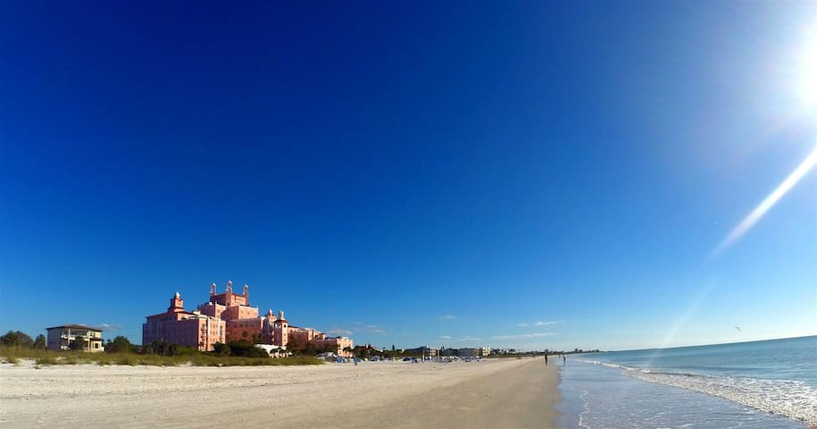 Right Near the access to the beach, Don Cesar Area