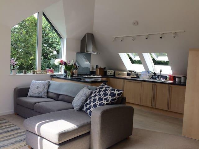 Kitchen/lounge.