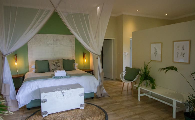 All the rooms have been tastefully decorated with soft features.