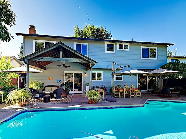 Wine Country Oasis w/ Private Pool & Shaded Patio