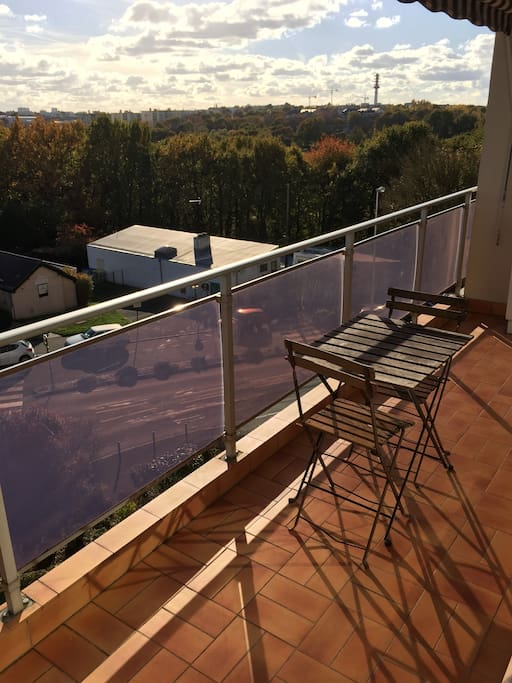 Relax ou repas sur le blacon / Relax or meal on balcony