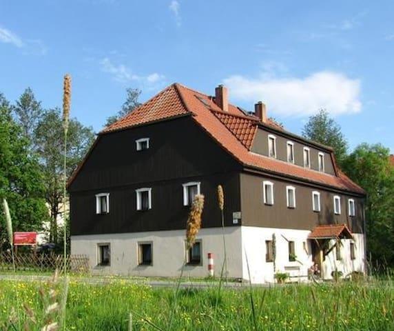 Ferienwohnung Tippelbrüder nahe der Burg Stolpen - สโตลเปน - อพาร์ทเมนท์