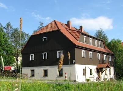 Ferienwohnung Tippelbrüder nahe der Burg Stolpen - Stolpen - Lejlighed