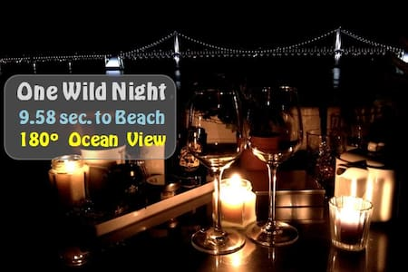 (Beach Front) One wild night Botanic Studio_ENG OK - Suyeong-gu - Huoneisto