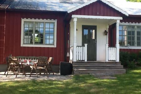 Stuga på Lantgård