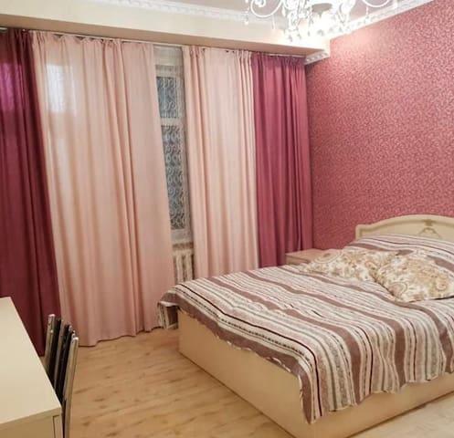 1+1 studio in the heart of Bishkek