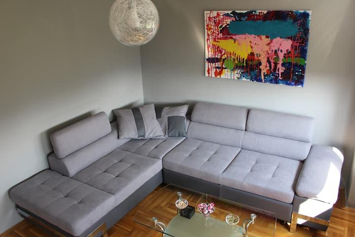 Comfortable apartment near the City Center