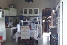 Cozinha da casa.