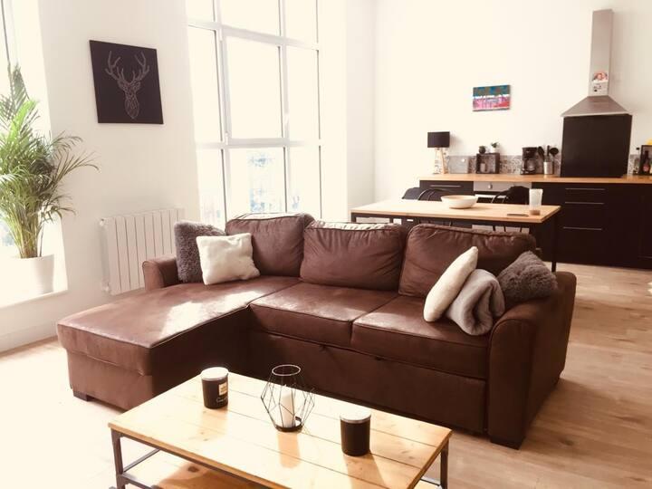 Chambre / magnifique appartement Rue Nationale