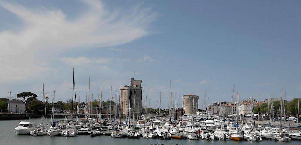 Appartement T2 avec terrasse La Rochelle