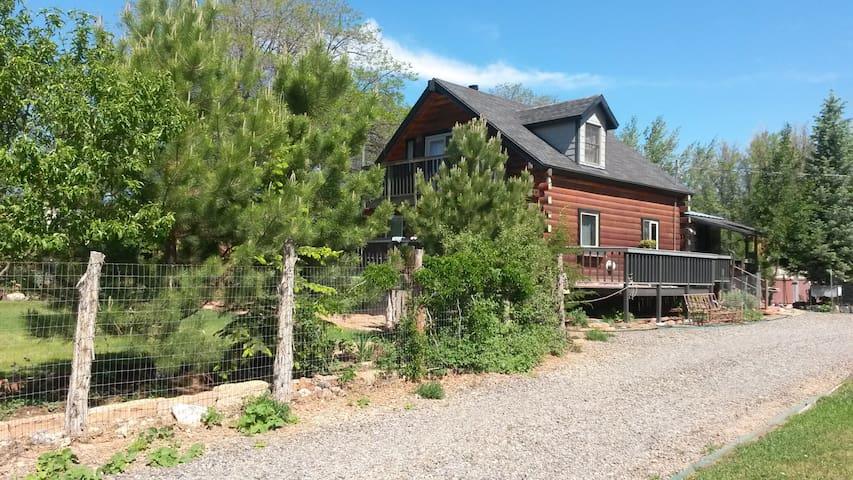 cozy capitol reef/torrey cabin utah - Torrey - Hus